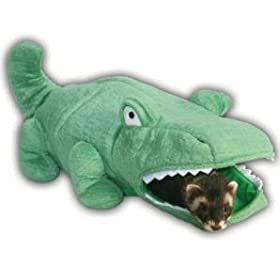 Marshall Ferret Hide-N-Sleep Alligator