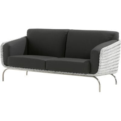 4 Seasons Outdoor Luton 2.5-Sitzer Sofa Polyrattan pearl