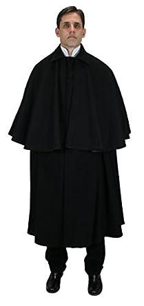 Victorian Mens Suits & Coats 100% Wool Inverness Dress Cloak $223.95 AT vintagedancer.com