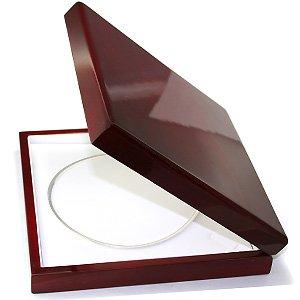 Amazon.com: Large Cherry Wood Necklace Jewelry Gift Box