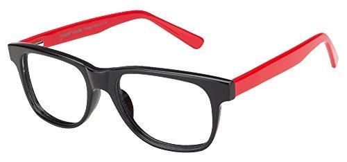 Vincent Chase VC 6429/1 Black Red 1030 Wayfarer Eyeglasses(104850)