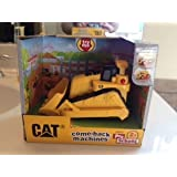 CAT Construction Loader Come-Back Machines With Motorized Lights And Sounds For Kids Age 2+ #80275