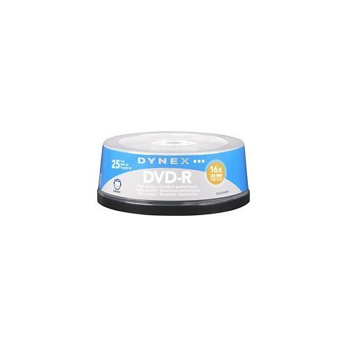 Dynex? - 25-Pack 16x DVD+R Disc Spindle
