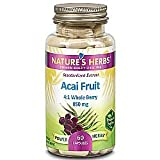Nature's Herbs Power Herbs Acai Fruit Standardized Extract - 60 Capsules