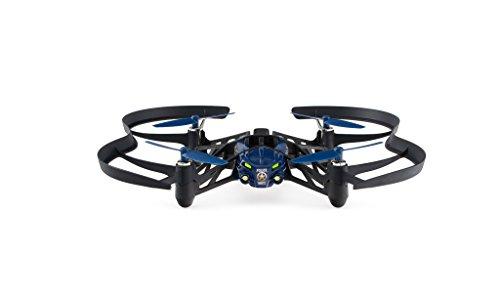 Parrot Minidrone Airborne Night MacLane con luci LED, Blu
