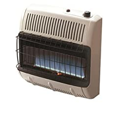 Mr. Heater Corporation Vent Free Flame Propane Heater, 30k BTU, Blue