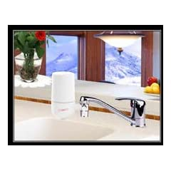 Crystal Quest White Faucet Mount Water Filter (Provides 2,000 gallons) 5 Stages