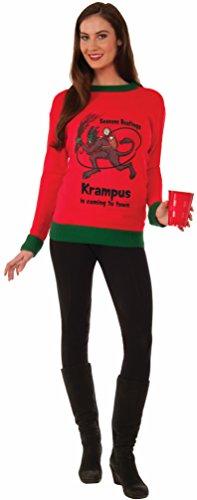 Forum Krampus Ugly Christmas Sweater, Multi, Medium
