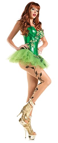 Costume Adventure Women's Sexy Poison Ivy Cosplay Halloween Costume