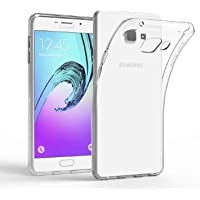 Plus Exclusive Soft Silicone TPU Transparent Clear Case Soft Back Case Cover For Samsung Galaxy A7 (2016)