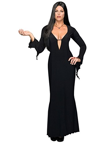 Great Group Halloween Costumes: The Addams Family - Plus Size / Full Figure Morticia Costume