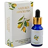 Nature's Absolutes Pure Lemon Essential Oil -15 Ml, 100% Steam Distilled, Pure & Organic Oil For Hair & Skin Care