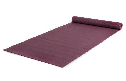 Yogistar Basic - Esterilla de yoga, color rojo, talla XXL