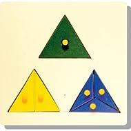 Skillofun Parts Of Triangle Tray (With Knobs)