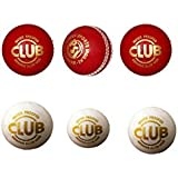 Aadix Sports Unisex Leather Cricket Ball- Pack Of 6 Associated
