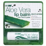 Optima Aloe Vera Sun Protect Lip Balm Tea-Tree (4G)