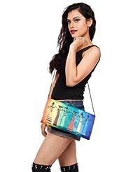 Digitally Printed Multi Stylish Loung Clutch Fashion/Carry Bags With Multi Pocket - B01IBJXKCG