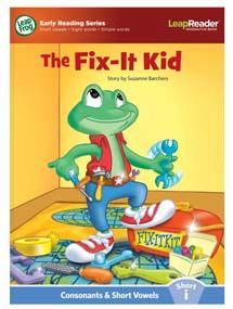 """The Fix-it Kid"" features short vowel ""i"" sound."