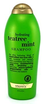 Organix Shampoo Tea Tree Mint 25.4 oz.