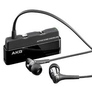【並行輸入品】AKG+アーカーゲー+K390NC+Noise+Cancelling+ノイズキャンセリング+In-Ear+Headphone+ヘッドフォン+with+Inline+Microphone+(Black)