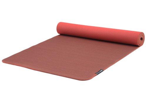Yogistar Eco Deluxe - Esterilla de yoga, color rojo