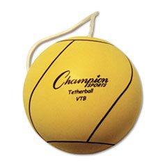 Champion Sports Tether Ball, Playground Size, Optic Yellow,