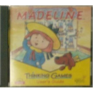 Madeline Thinking Games, Users Guide Cd Game