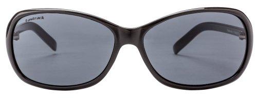Fastrack Oval Sunglasses (Black Grey) (P184BK2F)