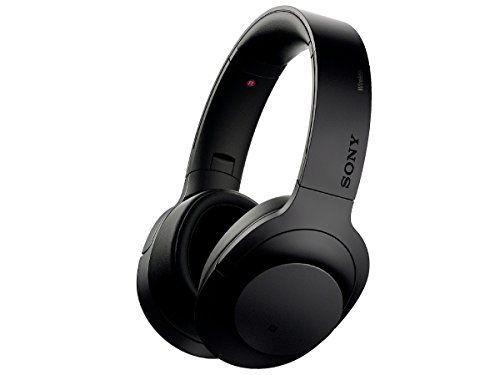 Sony H.ear on Wireless NC Headphone, Charcoal Black (MDR100ABN/B)