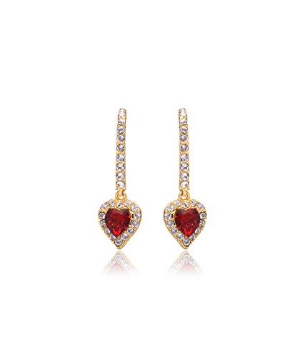 Eclat Brass Gold Plated Drop Or Dangler Earrings For Women New Fashion Jewelry (713137GS)