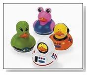 Astronaut Space Alien Rubber Ducks