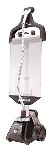 Rowenta Master Valet Steamer - Centro de planchado vertical, 1500 W, soporte y percha integrada, color gris
