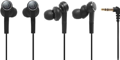 audio-technica インナーイヤーヘッドホン ブラック ATH-CKS77 BK