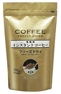 ☆特売☆インスタントコーヒー(フリーズドライ)200g×6袋