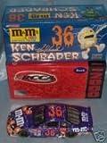2000 Ken Schrader Grand Prix #36 M & M / Halloween Clear Window Bank/stock Car