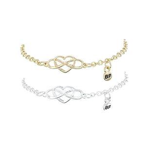 "Claire's Damen-Infinity-Armband ""Best Friends"" (""Beste"