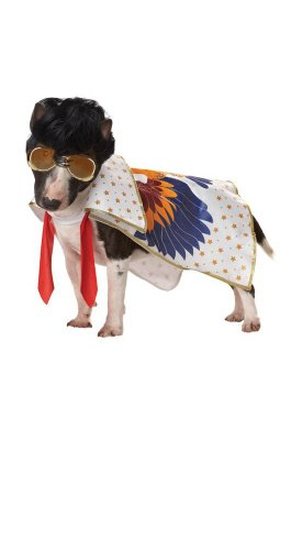 Rock N Roll King Dog Costume