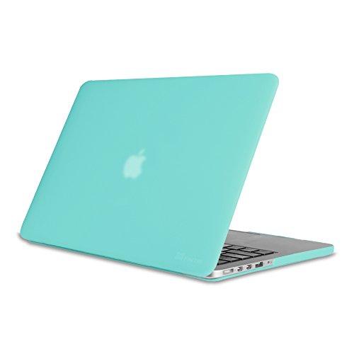 Fintie MacBook Pro 15 Retina Étui Housse (NO CD-ROM Drive) - Haute Qualité Frosted Plastique Caoutchouté Dur étui Housse pour Apple MacBook Pro 15.4