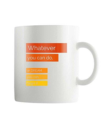 PosterGuy Entrepreneur Vision Motivational /Impirational Quote White Ceramic Coffee Mug