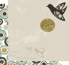 Passover Scrapbooking Paper- Freedom Dove