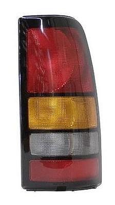 04 05 06 GMC Sierra Truck Passenger Taillight Taillamp 07 Classic