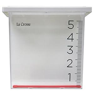La Crosse Technology 705-109 Rain Gauge, Clear Plastic, 8.45 x 3.5 x 8-In.