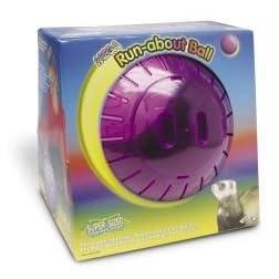 Pets International Mega Run About Ball Rainbow 13 Inch - 100079361