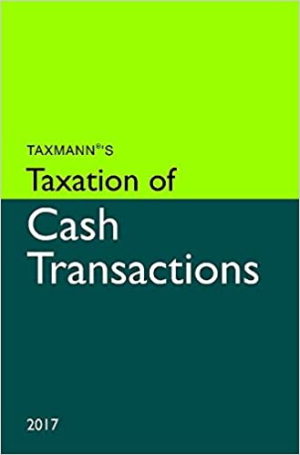 Taxation of Cash Transactions (2017 Edition)