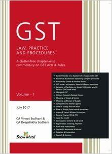 GST : Law, Practice & Procedures