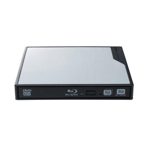 Logitec+USB3.0対応+ポータブルブルーレイドライブ+【For+Mac】+シルバー+LBD-PME6U3MSV