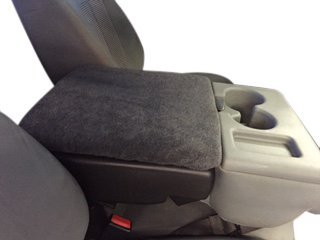 FORD F-150 2002 – 2016 Truck Auto Center Armrest Cover Protects from Dirt and Damage Renews old damaged consoles – Dark Gray