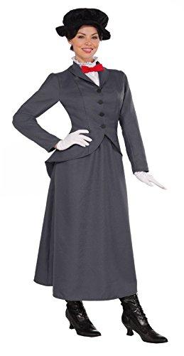 Halloween 2017 Disney Costumes Plus Size & Standard Women's Costume Characters - Women's Costume Characters Women's English Nanny Mary Poppins Costume - L (10/14) or XL (14/20) Plus Size