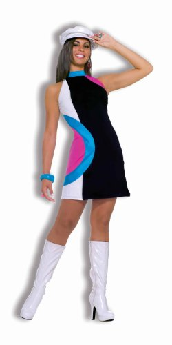 Women's 60's Generation Mod Doll Costume Dress