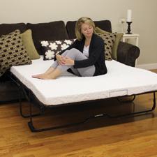 Classic Brands Cool Gel Memory Foam Replacement Sofa Mattress for Replacement Sofa Sleeper